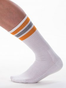 Barcode Berlin [3 pack] Me-Time Socks White/Orange/Grey 9136...