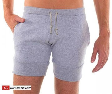 Go Softwear West Coast Dock Shorts Heather Grey 4661