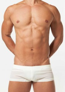 Toot Paper Nylon Short Trunk Underwear Off White ST25F183