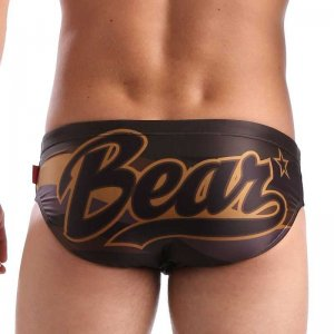 Estevez Bear Flag Bikini Swimwear