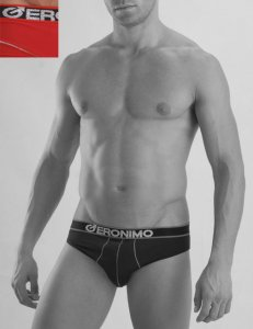 Geronimo Slip Brief Underwear Red 834S2