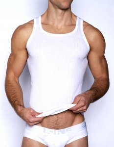 C-IN2 Core Engine Tank Top T Shirt White 4106
