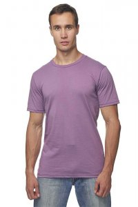 Royal Apparel Unisex Organic Short Sleeved T Shirt Eggplant 5051ORG
