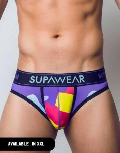 Supawear Sprint Brief Underwear Bubblegum U22SPBG