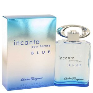 Salvatore Ferragamo Incanto Blue Eau De Toilette Spray 3.4 oz / 100.55 mL Men's Fragrance 518766