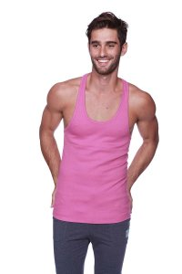 4-rth Racer Back Yoga Tank Top T Shirt Berry