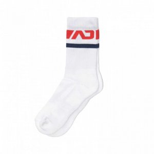 Addicted Basic Sport Socks Red AD521