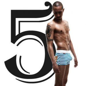 Rock N Fresh [5 Pack] Weekday Package Assorted Boxer Brief Underwear