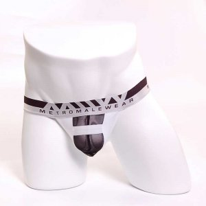 MIIW Suppress Thong Underwear White 1012-00