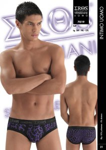 Eros Veneziani Hiver Brief Underwear Purple 7019
