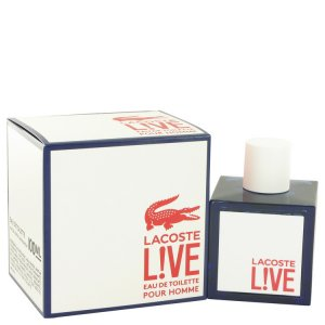 Lacoste Live Eau De Toilette Spray 3.4 oz / 100.55 mL Men's Fragrance 514688