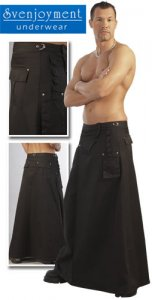 Svenjoyment Mr. Rock Long Kilt 2140020
