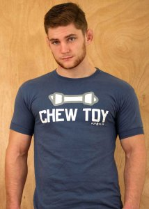 Clearance Ajaxx63 Chew Toy Rawhide Short Sleeved T Shirt Fad...
