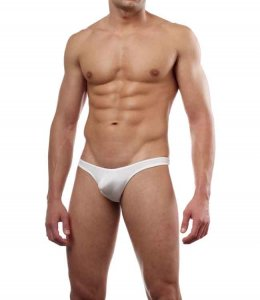 Cover Male Pouch Enhancing Thong Underwear & Swimwear White 202