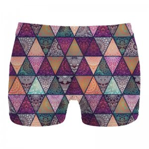 Mr. Gugu & Miss Go Triangles Boxer Brief Underwear UN1072