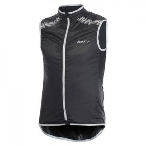 Craft Performance Bike Featherlight Vest Jacket Black/Platinum 1901282