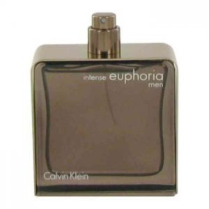Calvin Klein Euphoria Intense Eau De Toilette Spray (Tester) 3.4 oz / 100.55 mL Men's Fragrance 467913