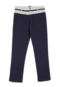 Spy Henry Lau Terry Casual Pants Blue SP788AA87VZGHK