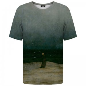 Mr. Gugu & Miss Go Monk By The Sea Unisex Short Sleeved T Shirt TSH1138