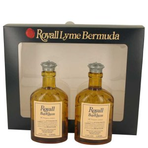 Royall Fragrances Royall Bay Rhum All Purpose Lotion / Cologne Splash 2 x 4 oz / 118.29 mL Includes 2 Spray Pumps Gift Set 53650