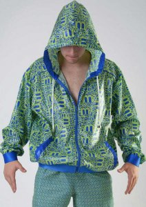 Geronimo Summer Jacket Hooded Sweater 1810V3-2