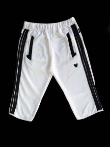 Bullywear Hugger Knee Shorts White SHST37