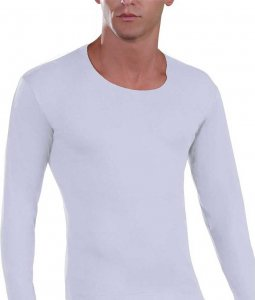 Lord Cotton Long Sleeved T Shirt White 235