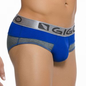 Gigo COMB BLUE Brief Underwear G01088-BLUE