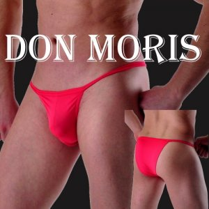 Don Moris Solid Tanga Underwear Red DM100212