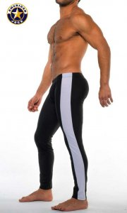 Go Softwear A J Sports Warm Up Tights Pants Black Combo 8533