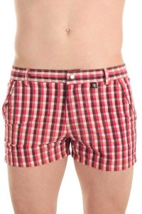 L'Homme Invisible Miami Shorts Swimwear Red BA210-VIC-009