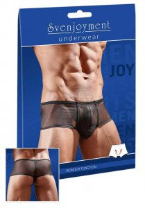 Svenjoyment Powernet Cheeky Mini Boxer Brief Underwear Black 2132125