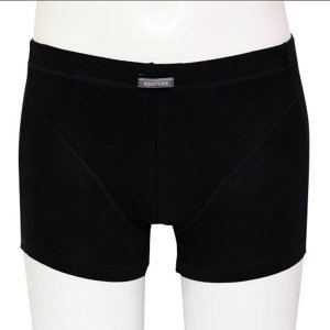 Minerva Sporties Basic Boxer Brief Underwear Black 20260