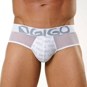 Gigo TULL Brief Underwear White
