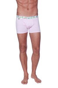 4-rth Zen Boxer Brief Underwear Solid Pink
