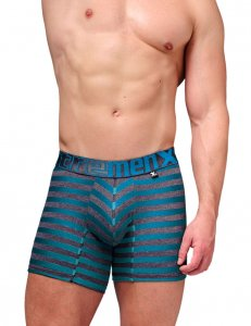 Xtremen Cotton Boxer Brief Underwear Turquoise 51382