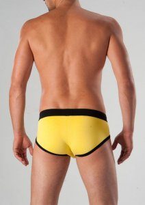 Geronimo Brief Underwear Yellow 1262S2