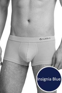 Nukleus Heart Collection The Cool Heart Shorty Boxer Brief Underwear Insignia Blue N-UE-02