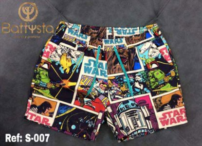 Battysta Star Wars Shorts Swimwear S011