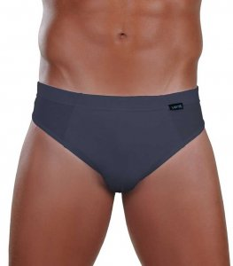 Lord Cotton Brief Underwear Charcoal 333