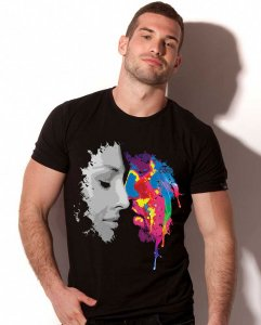 Alexander Cobb Kiss In Color Short Sleeved T Shirt 5C-20