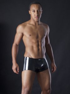 MANstore M257 Mini Pants Boxer Brief Underwear Silver 2-08263/8172