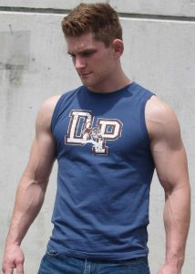 Ajaxx63 DP Dearborn Panthers Athletic Fit Muscle Top T Shirt...