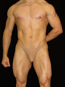 Arroyman Traditional Thong Underwear Nude STN07