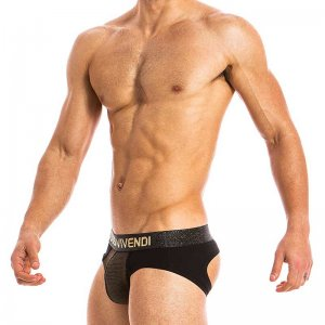 Modus Vivendi Festive Bottomless Jock Brief Jock Strap Under...