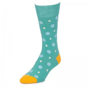 Strollegant AMUSED Crew Socks Teal