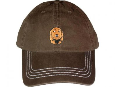Charlie Dog Baseball Hat Brown 503