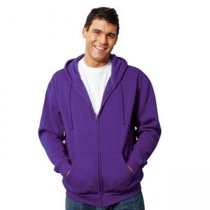Hanes Zippered Hoodie Sweater J626