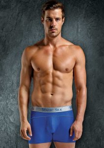 Magic Silk Silk Knit Panel Shorts Underwear Cobalt 6886