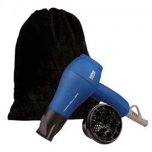 BaByliss Dual Voltage Mini Travel Hair Dryer Blue 12ELP161BL